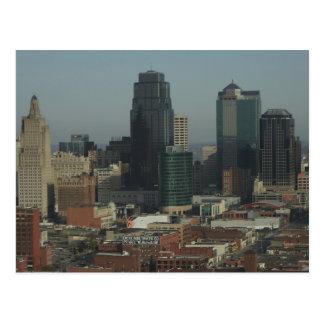 Kansas City Downtown Postcard