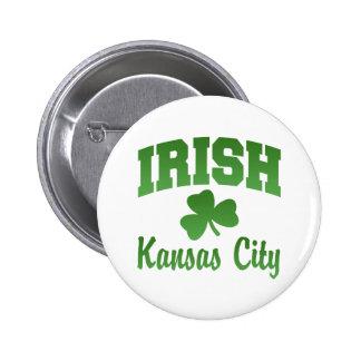 Kansas City Irish Button
