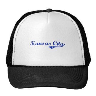 Kansas City Kansas Classic Design Mesh Hats