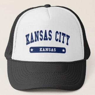 Kansas City Kansas College Style tee shirts Trucker Hat