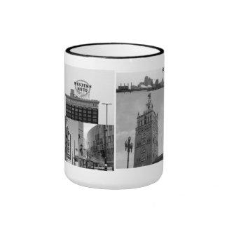 Kansas City Landmarks Ringer Mug