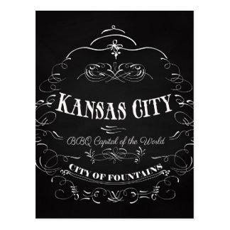 Kansas City Missouri - BBQ Capital of the World Postcard