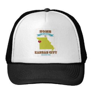 Kansas City, Missouri Map – Home Is Where Hats