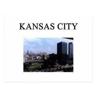 KANSAS CITY missouri Postcard