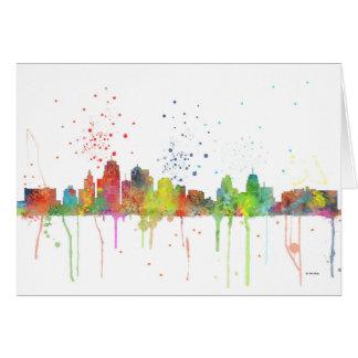 KANSAS CITY, MISSOURI SKYLINE CARD