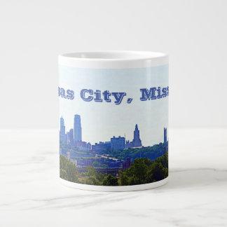 Kansas City, Missouri Skyline Giant Coffee Mug