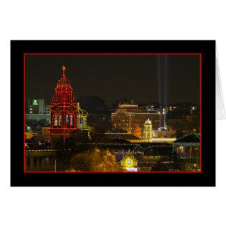 Kansas City Plaza Lights Card