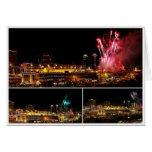 Kansas City Plaza Lights Collage, Fireworks