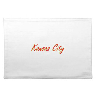Kansas City Red and Gold Placemat