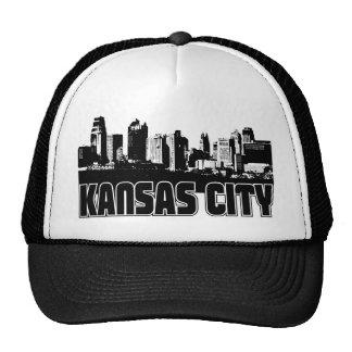 Kansas City Skyline Hats