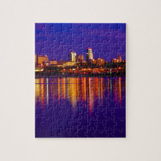 Kansas City Skyline Jigsaw Puzzle