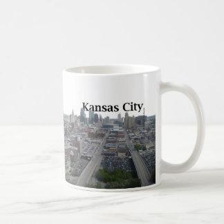 Kansas City Skyline with Kansas City in the Sky Mugs