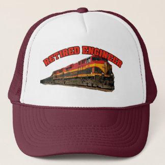 Kansas City Southern Retired Engineer Trucker Hat