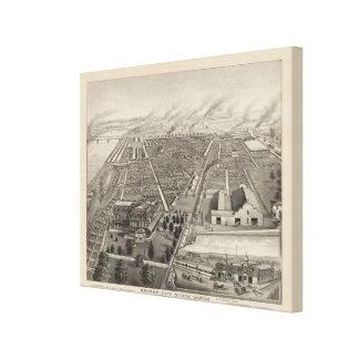 Kansas City Stock Yards, Kansas City, Kansas Canvas Print