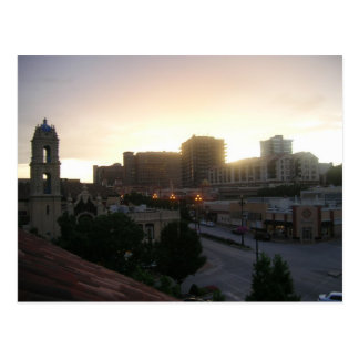 Kansas City Sunset Postcard