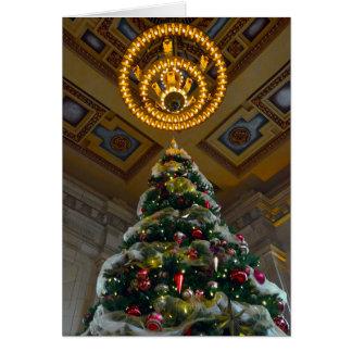 Kansas City Union Station Christmas Tree Card