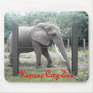 Kansas City Zoo Elephant Mouse Pad