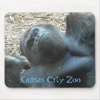 Kansas City Zoo Gorilla Mouse Pads