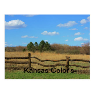 Kansas Color's Postcard