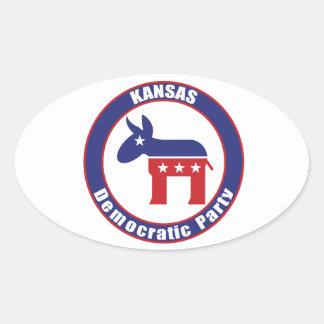 Kansas Democratic Party Stickers