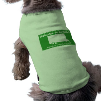 Kansas Pet Tshirt