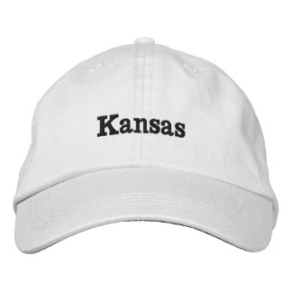 Kansas Embroidered Hats