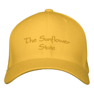 Kansas Embroidered Hat