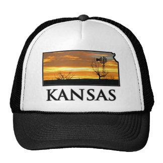 Kansas Farm Windmill Trucker Hats