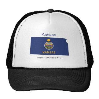 Kansas Flag Cap