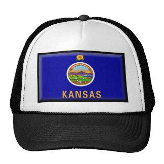 Kansas Flag Hats