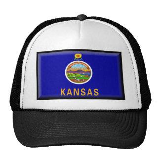 Kansas Flag Trucker Hats