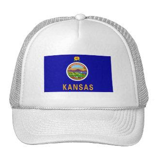Kansas FLAG International Mesh Hat