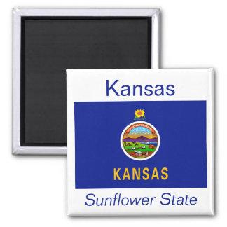 Kansas Flag Magnet