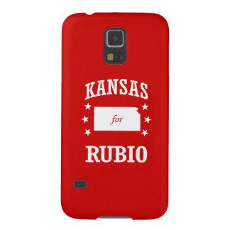 KANSAS FOR RUBIO GALAXY S5 CASES