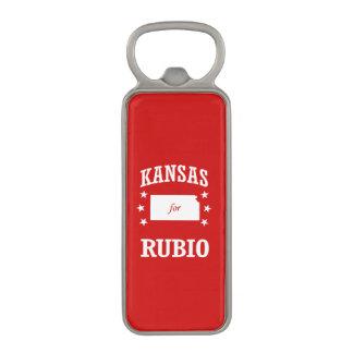 KANSAS FOR RUBIO MAGNETIC BOTTLE OPENER