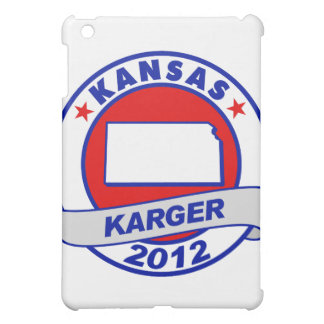 Kansas Fred Karger iPad Mini Cases