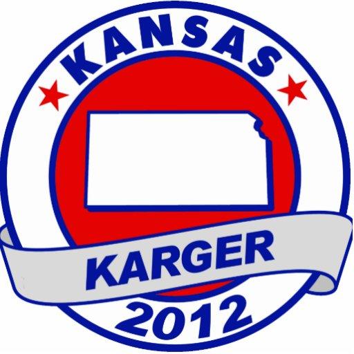 Kansas Fred Karger Photo Cut Outs