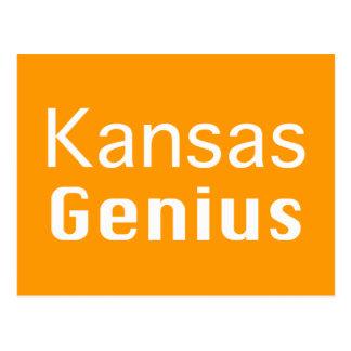 Kansas Genius Gifts Post Cards