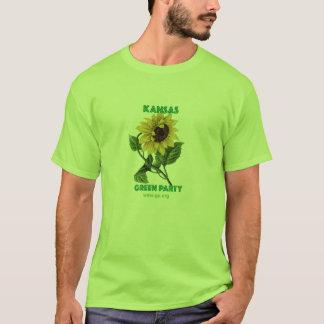 Kansas Green Party T-Shirt