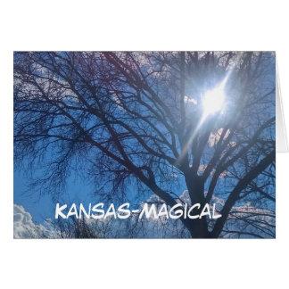 Kansas Greeting Scenes Card