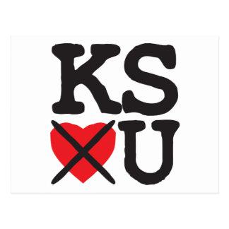Kansas Hates You Postcard