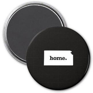 Kansas Home 7.5 Cm Round Magnet