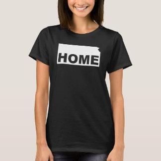 Kansas Home Away From State T-Shirt Tees