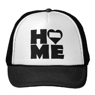 Kansas Home Heart State Ball Cap Trucker Hat