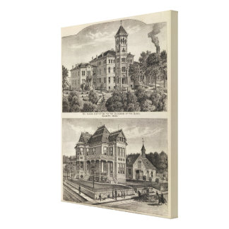 Kansas Institute for Education of the Blind Canvas Print