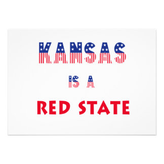 Kansas is a Red State Invites