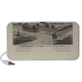 Kansas Live Stock County in Cawker City Notebook Speaker