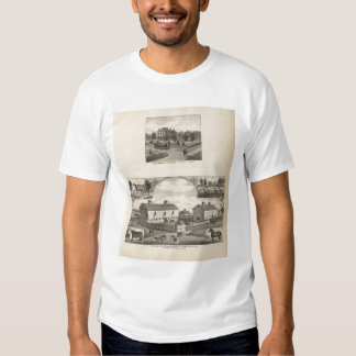 Kansas Live Stock County in Cawker City Tee Shirts