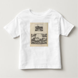 Kansas Live Stock County in Cawker City Toddler T-Shirt