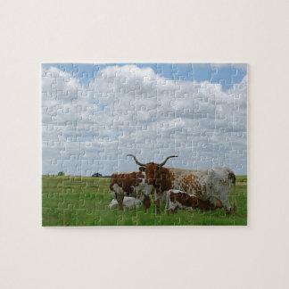 Kansas Longhorns Puzzle